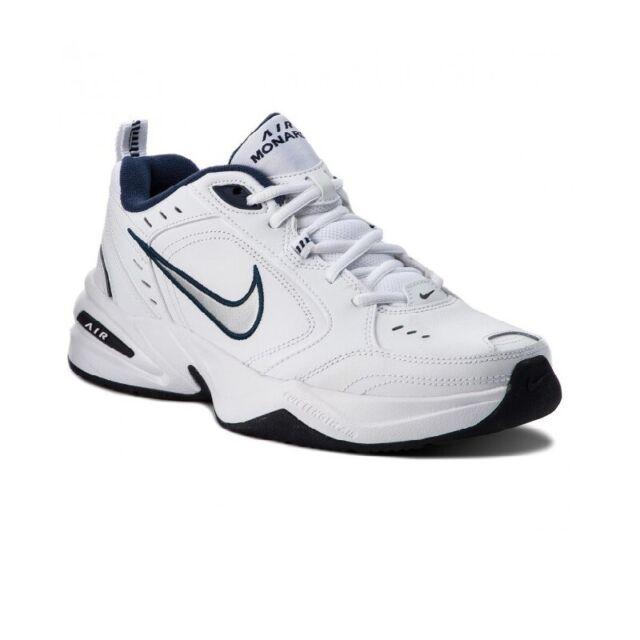 Scarpe Nike Air Monarch IV Taglia 42 415445 102 Bianco