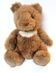 Vtg-Gund-Collector-039-s-Classics-1990-Teddy-Bear-K-3-Brown-White-12-034-Rare-Retired