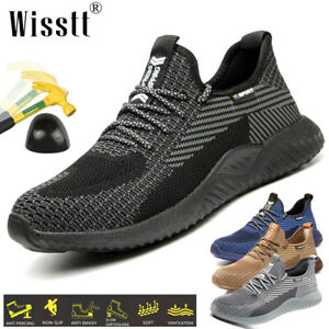 Women-Work-Safety-Shoes-Steel-Toe-Bulletproof-Boots-Indestructible-Sneakers-Size