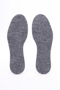 Einlegesohlen für Schuhe Einlagen 100% Filz Größe EU 4-9
