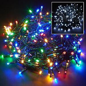 100 200 400 Led Chaser String Fairy Indoor Outdoor Lights