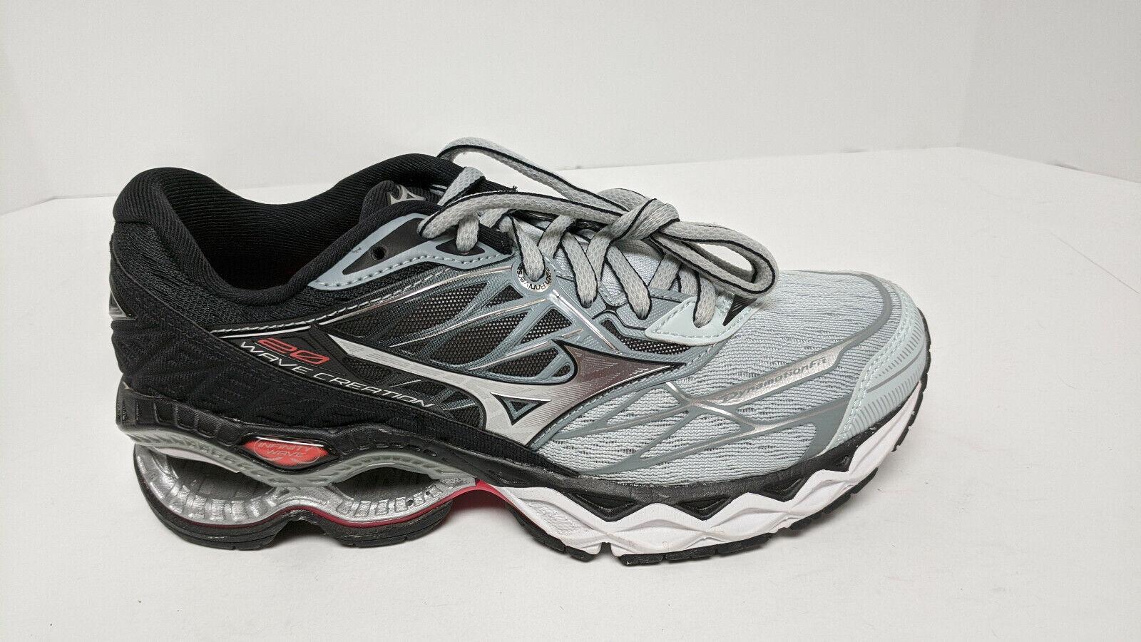 Mizuno Wave Creation 20 Chaussures De Course, gris/noir, femme 6 m