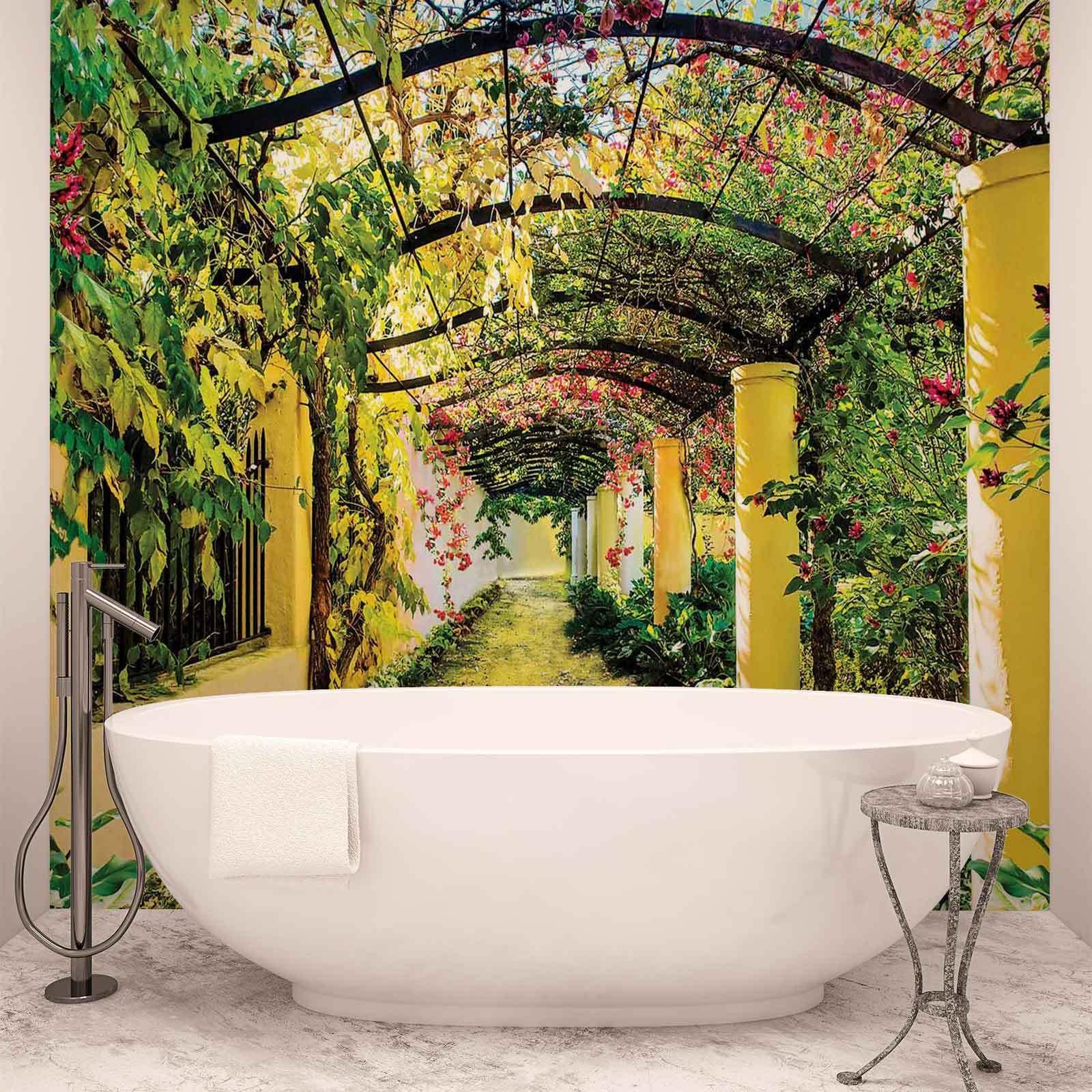 WALL MURAL PHOTO WALLPAPER XXL Flowers Floral Garden (136WS)