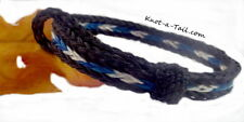 Horsehair bracelet great Men/womens Blue/black horsehair bracelet: rugged beauty