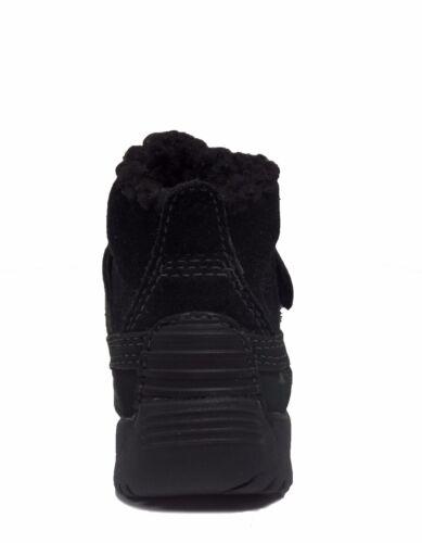 Timberland Infant/&Toddler MALLARD MID BUNGEE Waterproof Boots Black 91835 a6