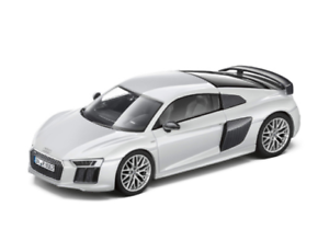 Genuine Audi R8 V10+ Coupe 1 43 Scale Car Display Model Suzuka Grey - 5011518413