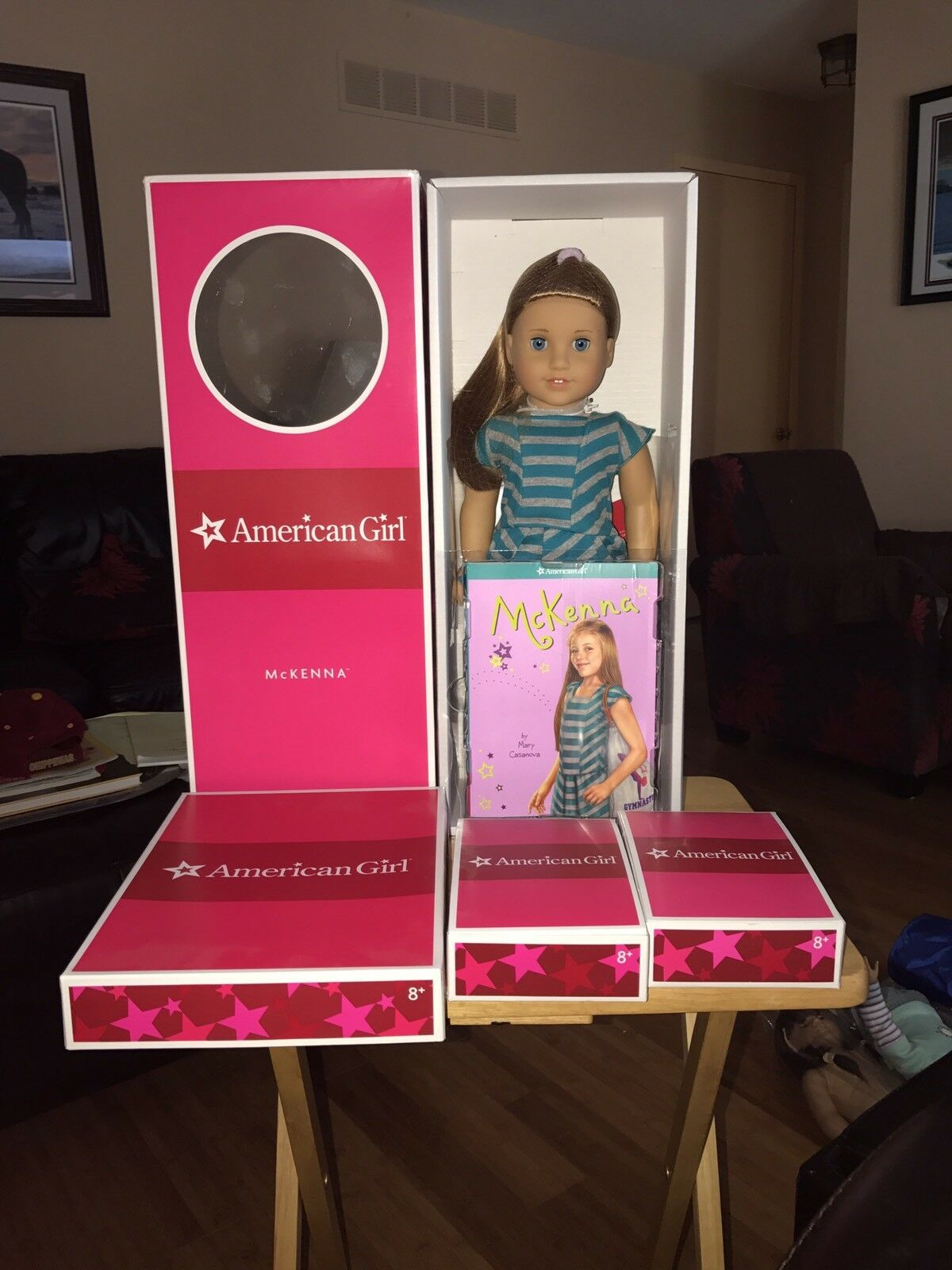 American Girl McKenna Set all BNIB  She is just Beautiful        A Must Have
