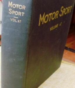 Motor-Sport-Volume-47-The-Teesdale-Publishing-1971-January-to-December-London
