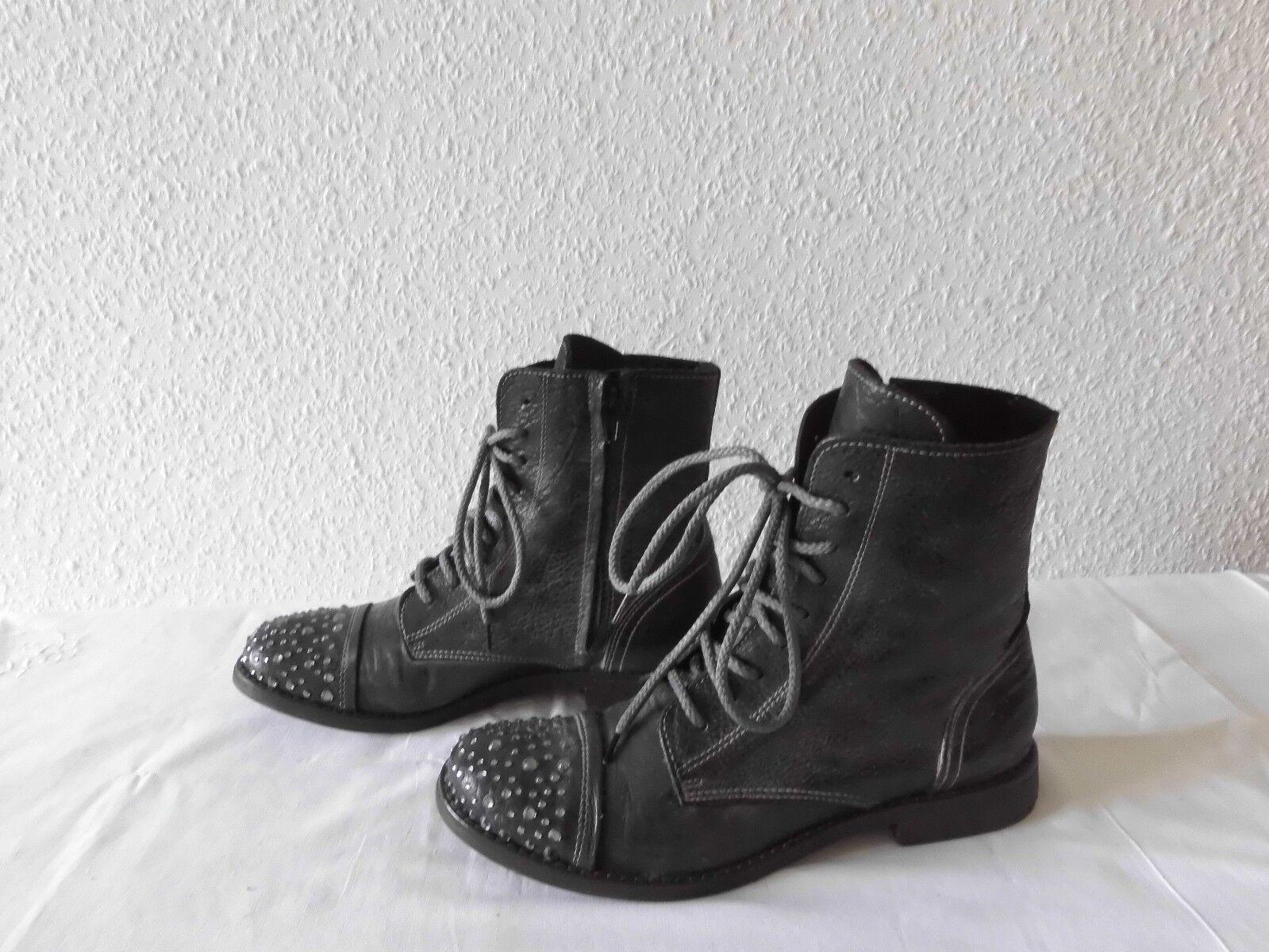 Luxus- Stiefeletten Stiefel  I Gr.39 LOVE BIONDINI Schuhe  Gr.39 I  Leder   TOP f506fa