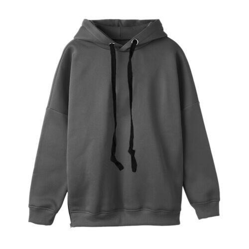 Damen Kapuzenpullover Hoodie Pullover Pulli Sweatshirt Jumper Hoody Top Oberteil