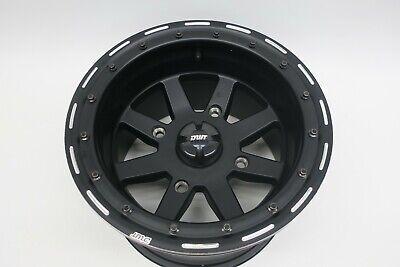 4//156 Douglas Star Fighter Beadlock Wheel 14x7 4.0 3.0 Matte Black for Polaris RANGER RZR XP Turbo EPS 2016-2018
