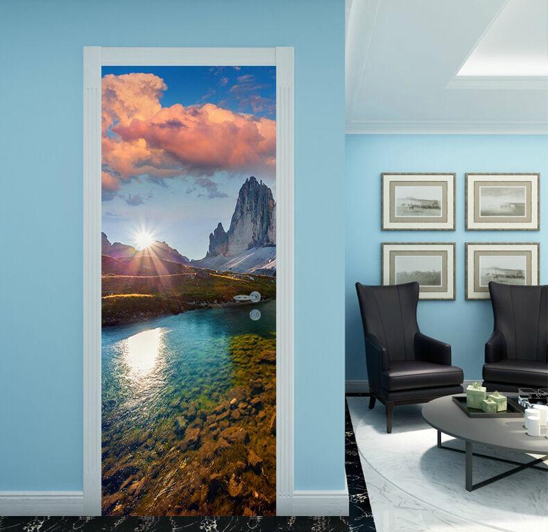 3D Fluss Fluss Fluss 76 Tür Wandmalerei Wandaufkleber Aufkleber AJ WALLPAPER DE Kyra | Tadellos  | Good Design  | eine breite Palette von Produkten  9f6bfc