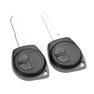 2Pcs Remote Key 2 Buttons 433 MHz ID46 Chip HU87 KBRTS004 Fit For Suzuki Swift