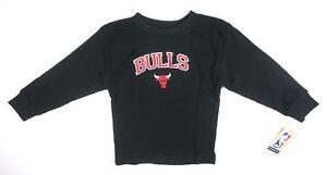 NEW-MAJESTIC-BOYS-BLACK-CHICAGO-BULLS-NBA-L-S-THERMAL-SHIRT-SIZE-5-6