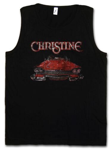 Christine car Gym tank top-stephen voiture 58er plymouth Fury Cunningham King