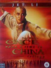 ONCE UPON A TIME IN CHINA TRILOGY DVD JET LI ORIGINAL!
