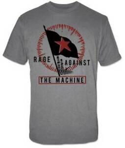 f332ac69 RAGE AGAINST THE MACHINE Flag T SHIRT S-M-L-XL New Official Live ...