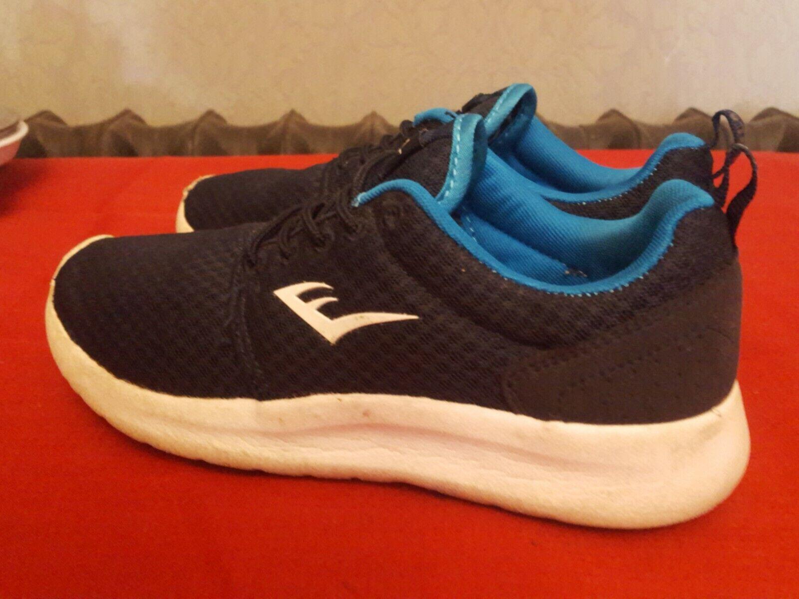 Everlast Baskets Chaussures De Sport Bleu Marine Taille 4. (F)