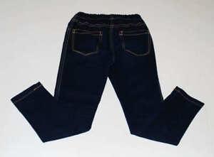 Mini-Boden-Girls-Jeggings-Dark-Rinse-Soft-Denim-Blue-Jeans-Skinny-Pants-Size-7