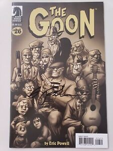 THE-GOON-26-2008-DARK-HORSE-COMICS-AUTOGRAPHED-by-ERIC-POWELL-with-COA-NM
