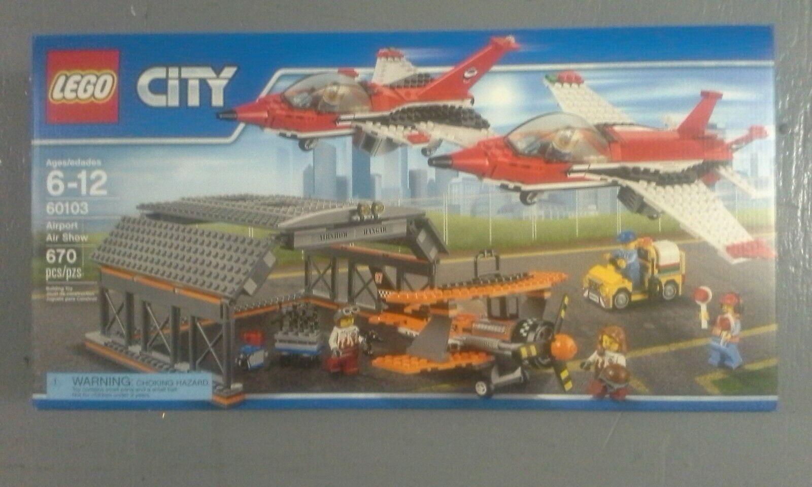 Lego 60103-City-aéroport  Air Show (DGSIM)  qualité pas cher et top