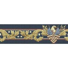 Patriotic American Eagle Peel and Stick Wallpaper Border QA4W0874
