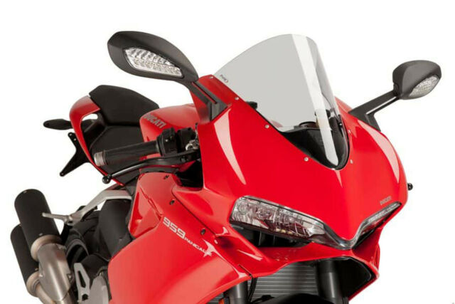 PUIG RACING SCREEN DUCATI 1299 PANIGALE R/S 15-18 CLEAR
