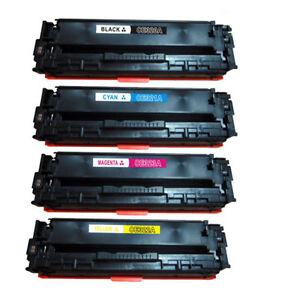 4-NO-OEM-reemplaza-para-HP-ce320a-ce321a-ce322a-ce323a-Cartuchos-de-toner