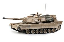 Large Scale RC M1A2 Abrams Tank  Desert Camo Upgraded Premium Label Version - Ho