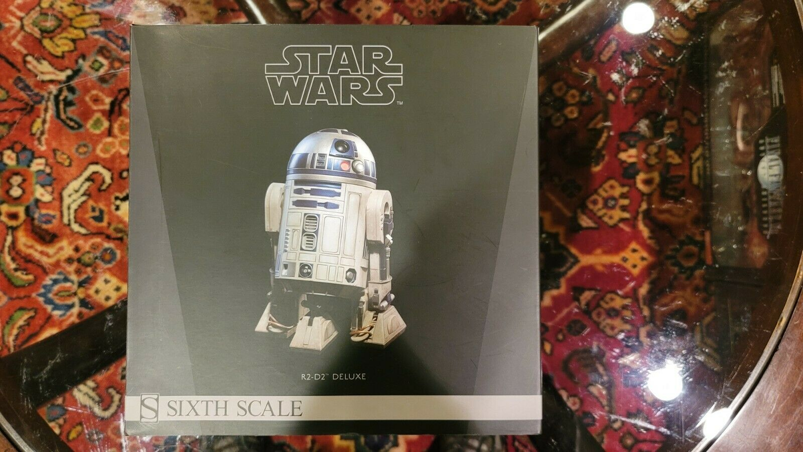 Sideshow Collectibles Star Wars Return Of The Jedi 1/6 R2-D2 -  Deluxe Version!! on eBay thumbnail