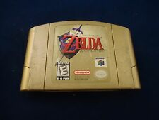 The Legend of Zelda: Ocarina of Time - Collector's Edition Nintendo 64 N64 GOLD!