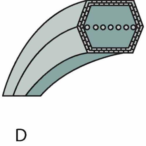 Mähwerkantrieb correas trapezoidales sb35065700//0 35065700//0 John Deere 1336 135065700//0