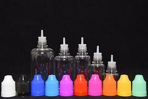 Plastic-Squeezable-Dropper-Bottles-5-10-20-30-50ml-Liquid-Juice-E-Eye-PET-USA