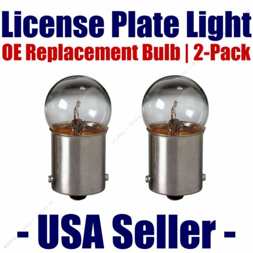 License Plate Bulb 2pk OE Replacement Fits d Listed Chevrolet Vehicles - 67