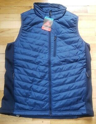 "$100 New Mens Columbia /""Cascade Trail II/"" Hybrid Omni-Heat Vest"