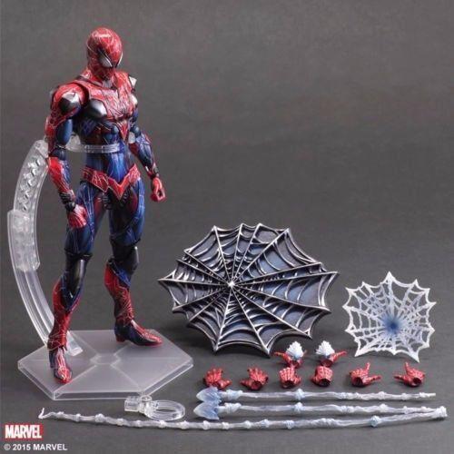 Spielen statt kunst kai marvel r ä cher spiderman - aktion bild statue spielzeug