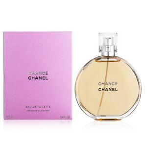 Chanel Chance Eau De Toilette Spray New in Box 100ml 3.4oz