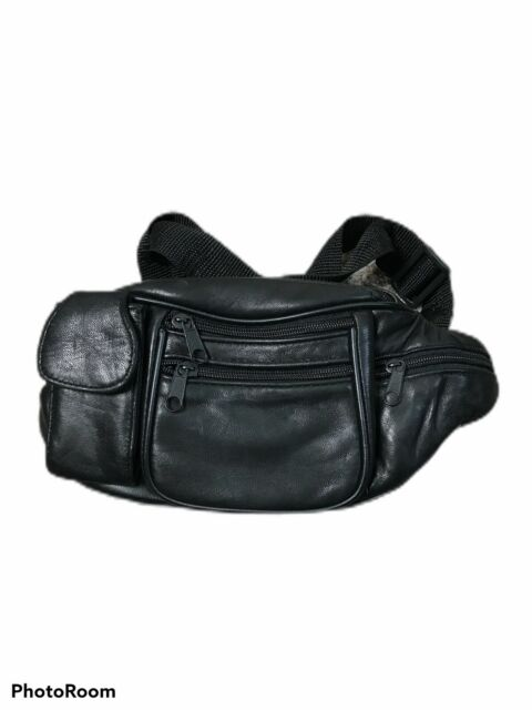 FANNING511 Dont Miss it Waist Pack Cowhide Leather Large Size 7 Pockets Fanny Pack/¡/