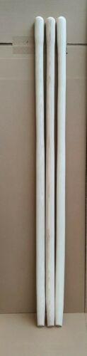 3 x Schaufelstiel Esche 1300 x 41mm gebogen Schüppenstiel DIN 20151