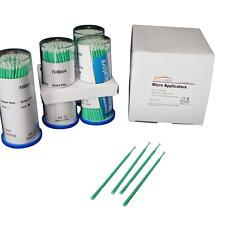 Dental Micro Applicator Brush Green Regular 400 Pcs