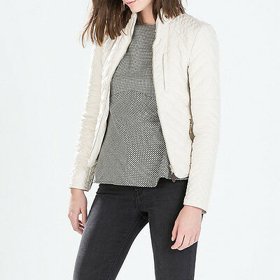 ZARA Women Quilted Jacket XL