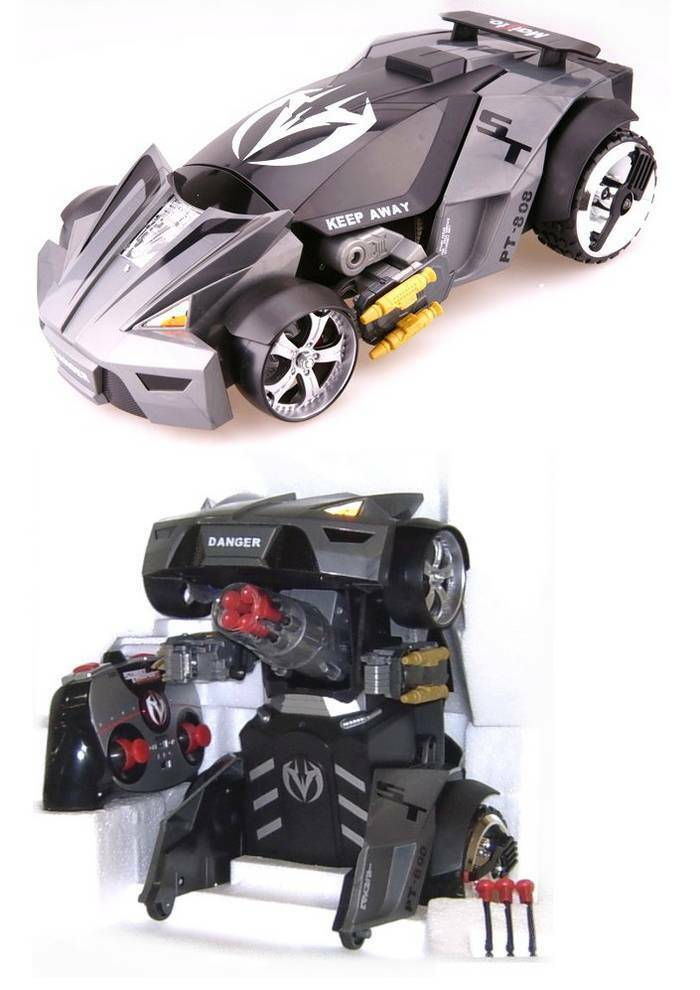 Street Troopers Transformers avec lance missile  piles non incluses  Maisto