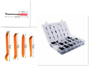 415  PCS 18 Sizes Trim Clip Retainer Panel Bumper Fastener Kit With Remover Tool