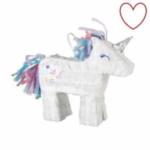 Unicorn Pinata Mini Party Decorations Birthday Accessories Event