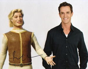Details About Rupert Everett With Shrek S Prince Charming Signed