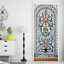 3D-Self-Adhesive-Stained-Glass-Window-Living-Room-Door-Murals-Wall-Sticker-Decal thumbnail 1