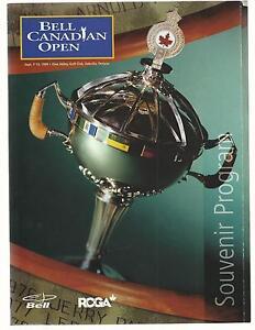 Golf-BELL-CANADIAN-OPEN-1998-SOUVENIR-PROGRAM-Glen-Abbey-Golf-Club-NRMT