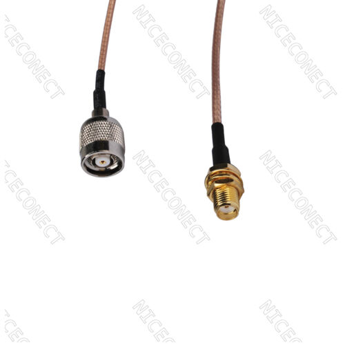 RP-TNC male to SMA female Jack Adapter pigtail cable RG316 20cm