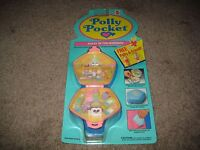 Vintage 1992 Bluebird Polly Pocket Polly In The Nursery Moc/new