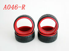 1/10 RC Car Onroad Hard Rubber Drift Tire Set 4pcs (A046)